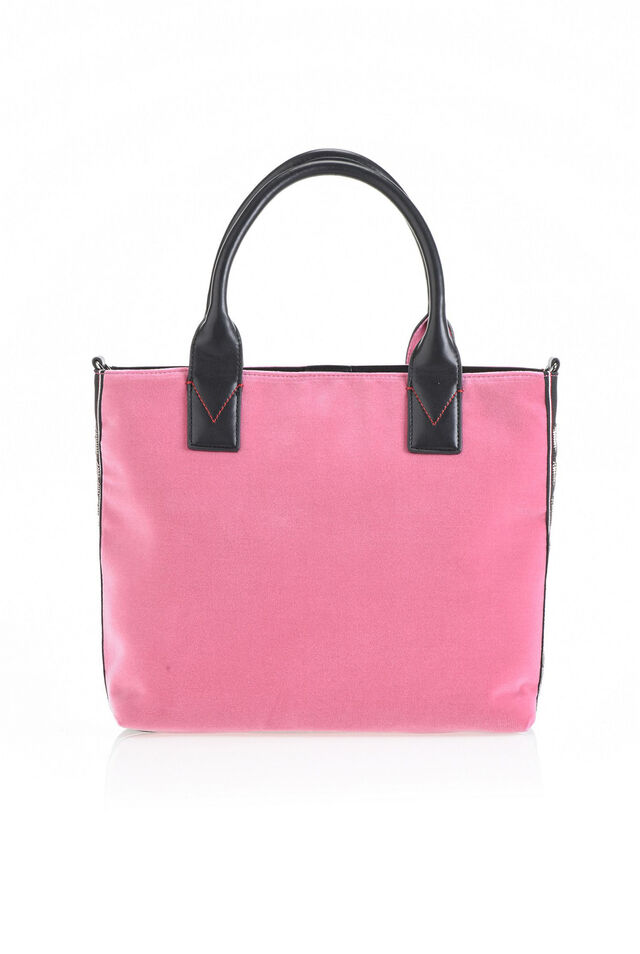 Medium shopping bag in velvet