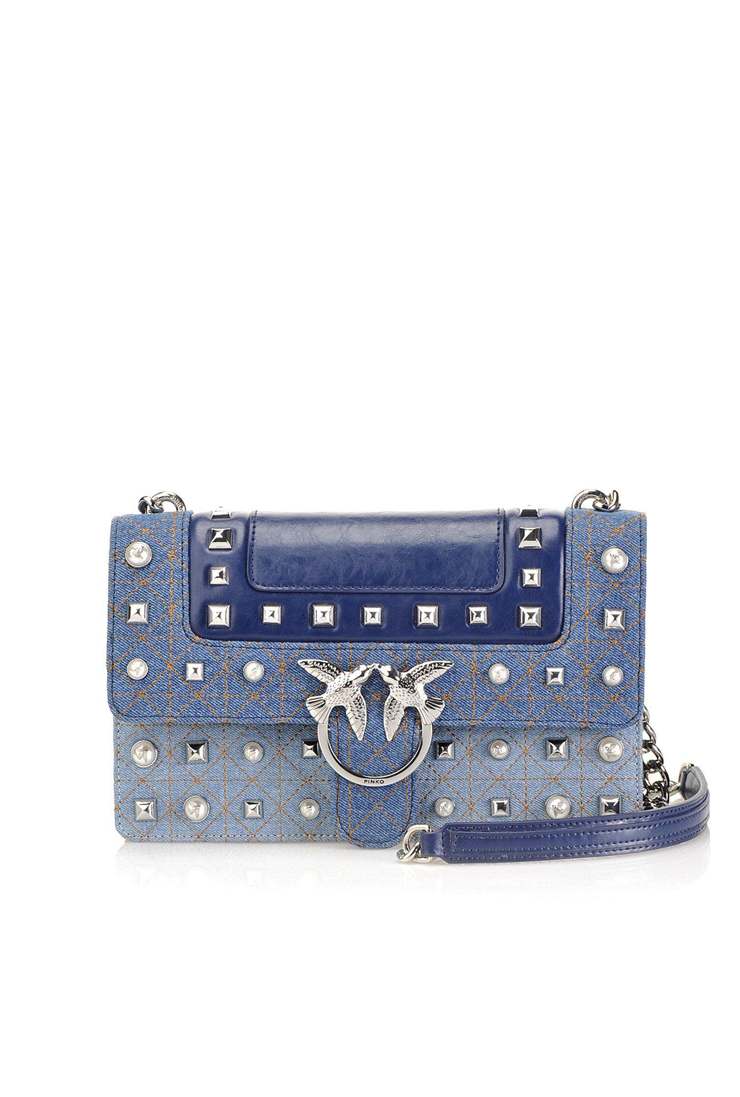 Jeans Pelle Bag E In Denim Love 7fqwaC5Bx