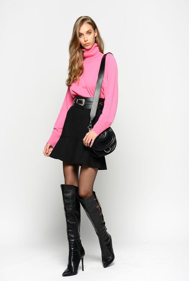 Minifalda con detalle joya