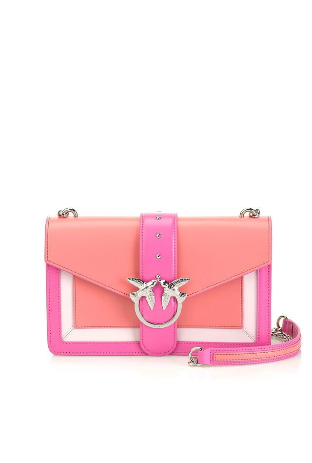 Love Bag Evolution in pelle bicolor c0086f43e5a