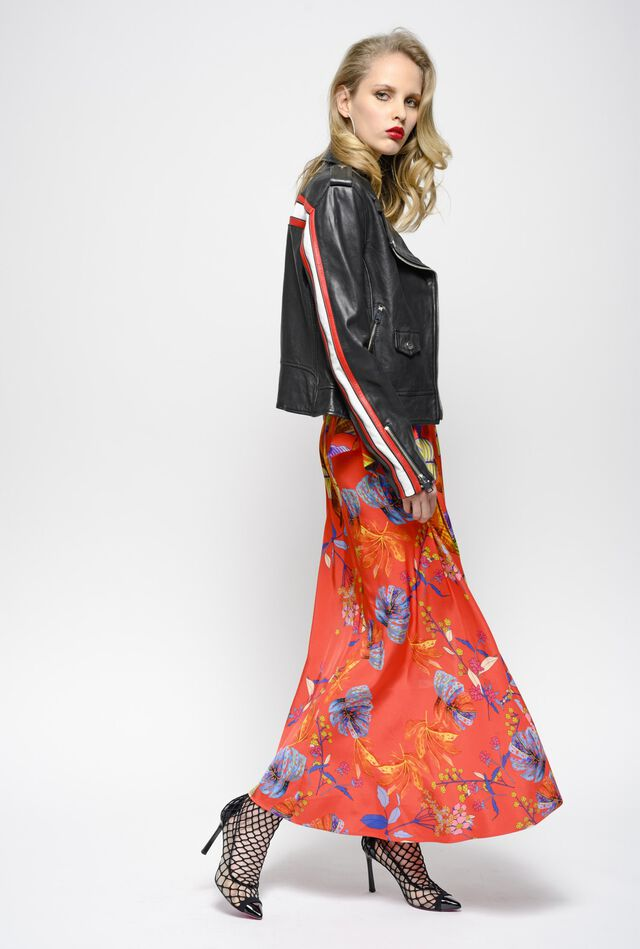 74d245f836e Maxi skirt with amazonia print