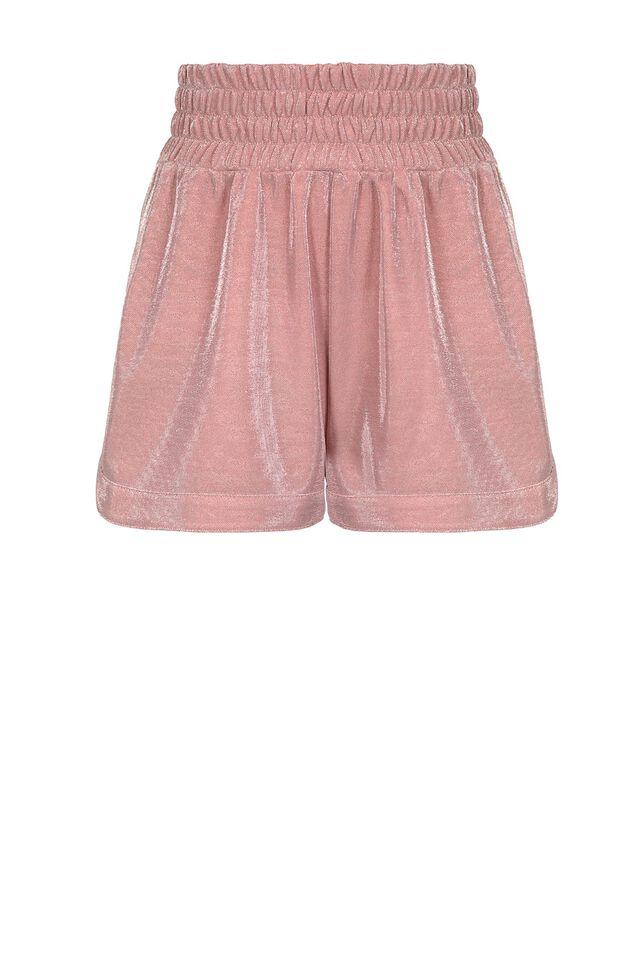 Shorts in tecno piquet lurex