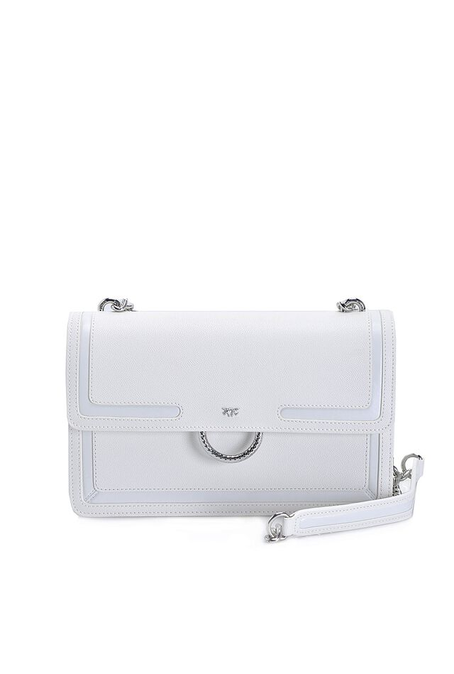 Love Bag New in pelle caviar con intarsi
