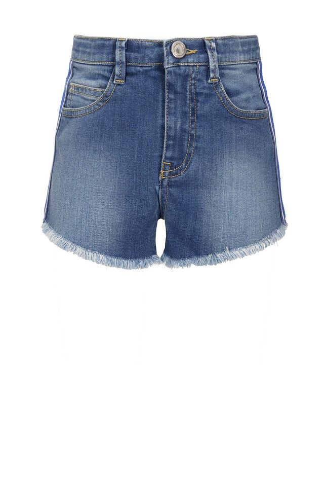 Shorts in soft denim