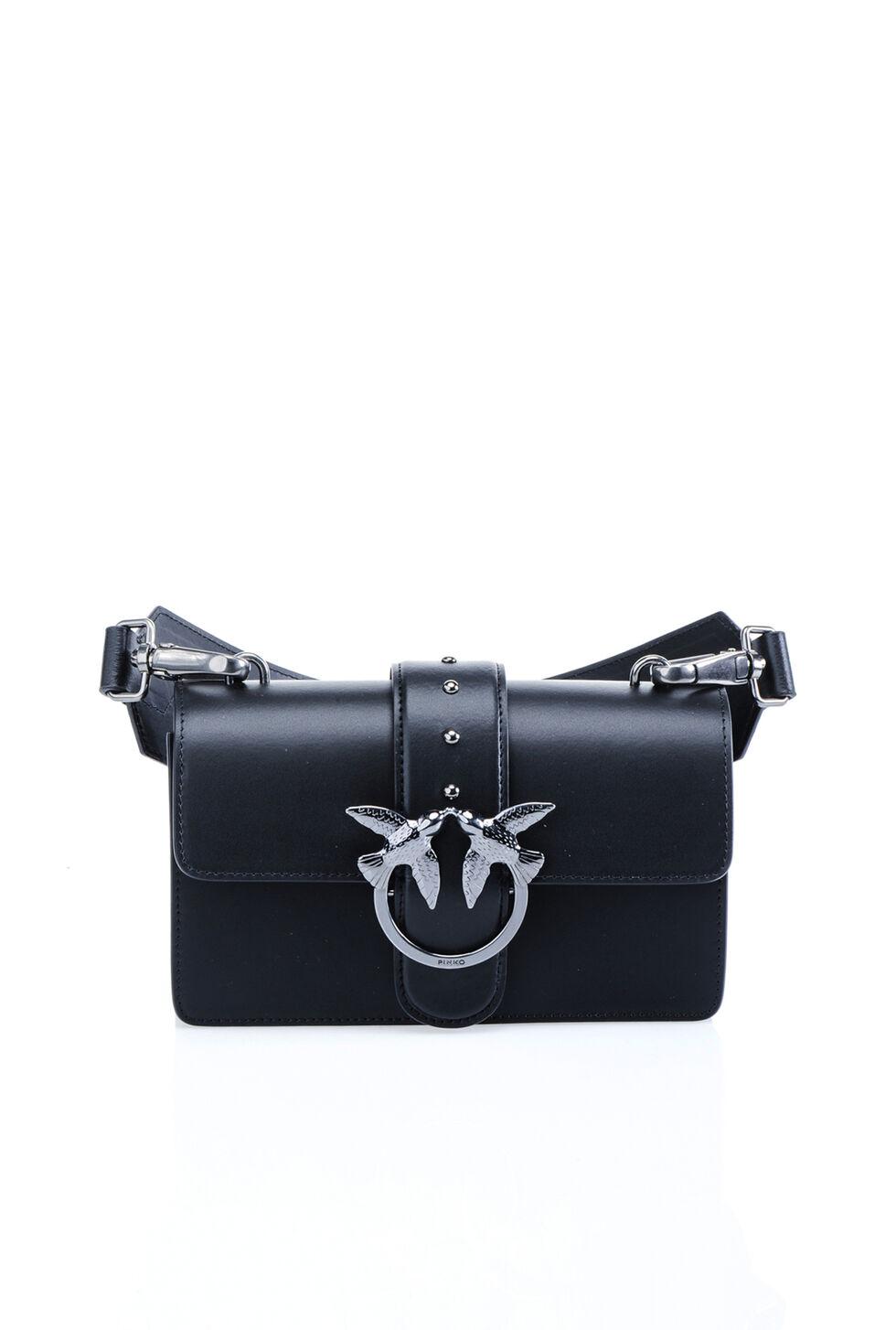 Mini leather Love Bag