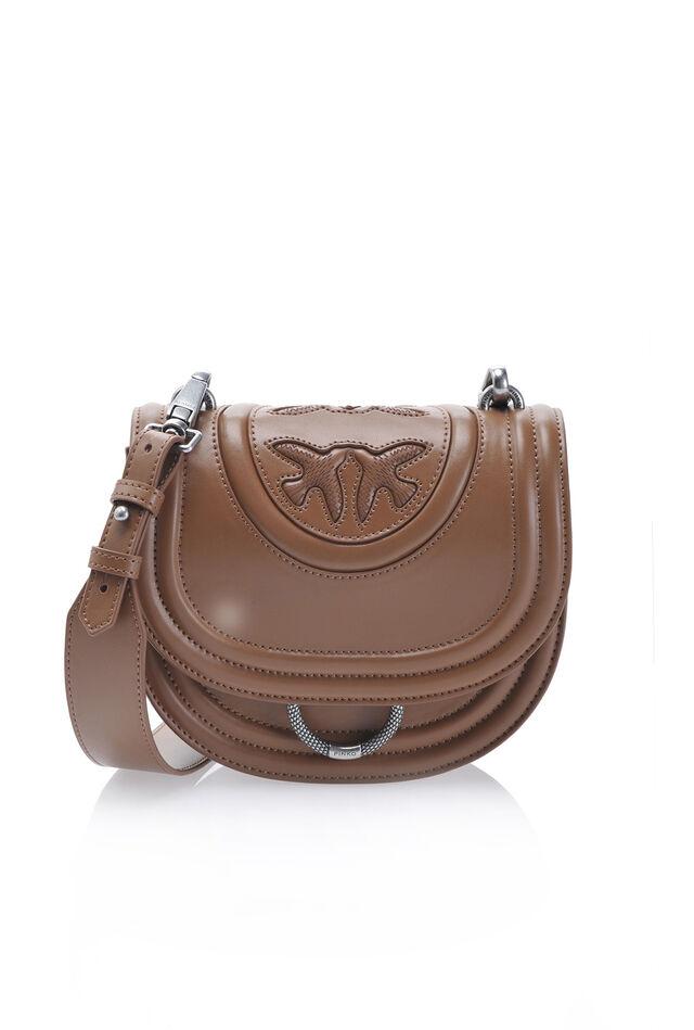 New Monogram Round Love Bag in nappa
