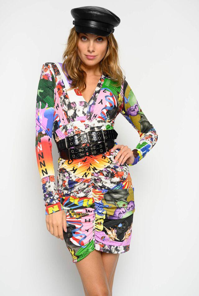 Ultra Pop print dress