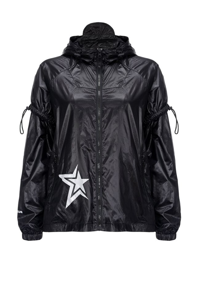 Short raincoat