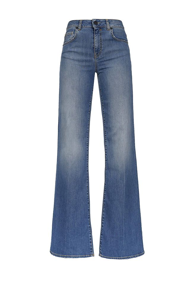 Jeans flared-fit in denim comfort
