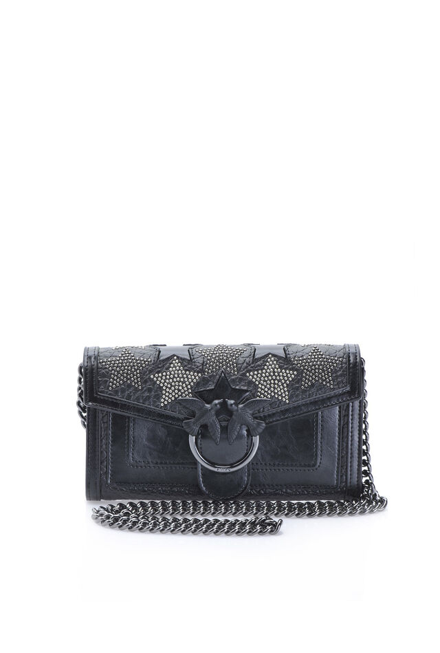 Starry Sky wallet with shoulder strap