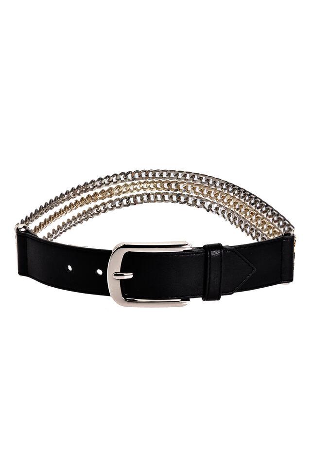 Cinturón con cadenas