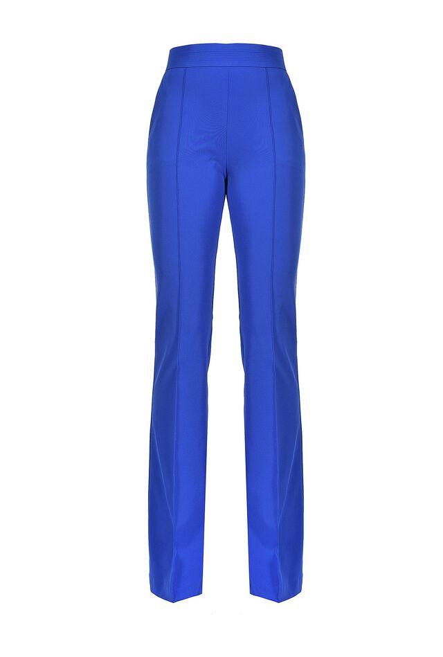 Pantaloni flare in tessuto tecnico