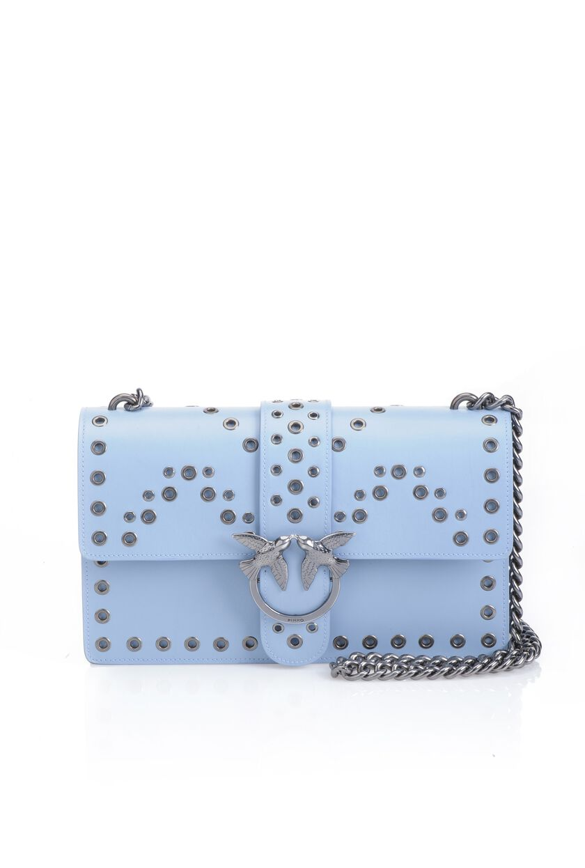 Love Bag with decorative eyelets