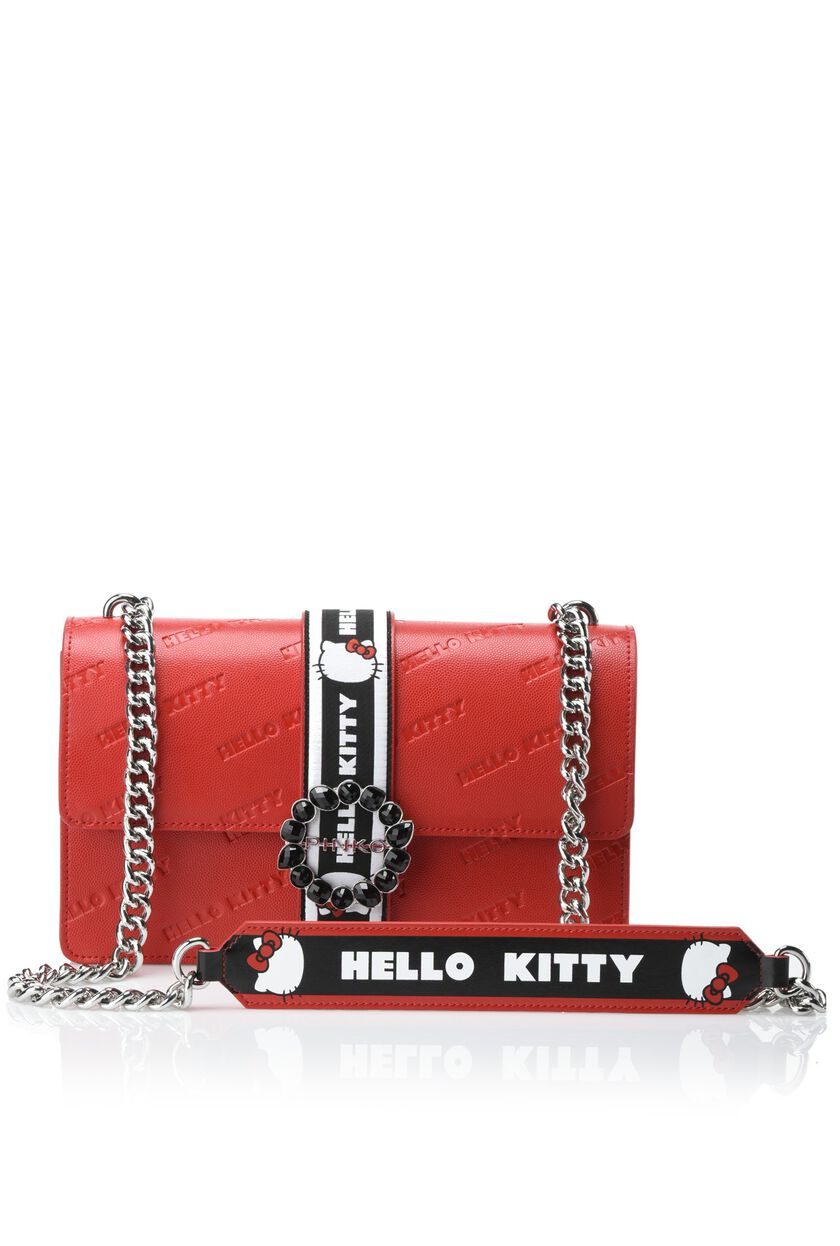 Hello Kitty Impressed Print Love Bag