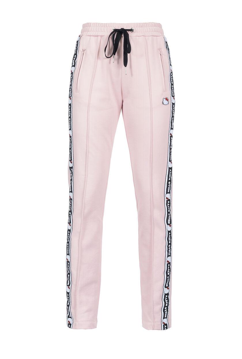 Pantalón de felpa con forro polar tecno con banda lateral