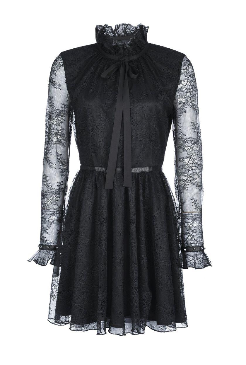 Valenciennes lace dress