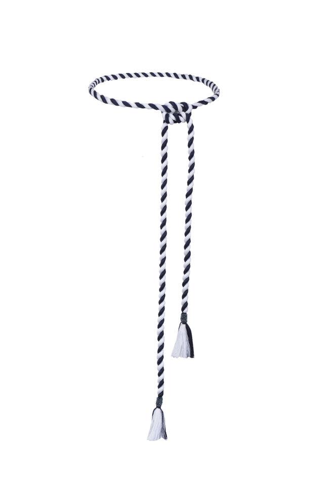 Cintura a cordone bicolor