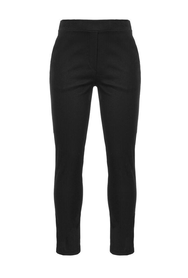 Stretch cotton bengaline leggings