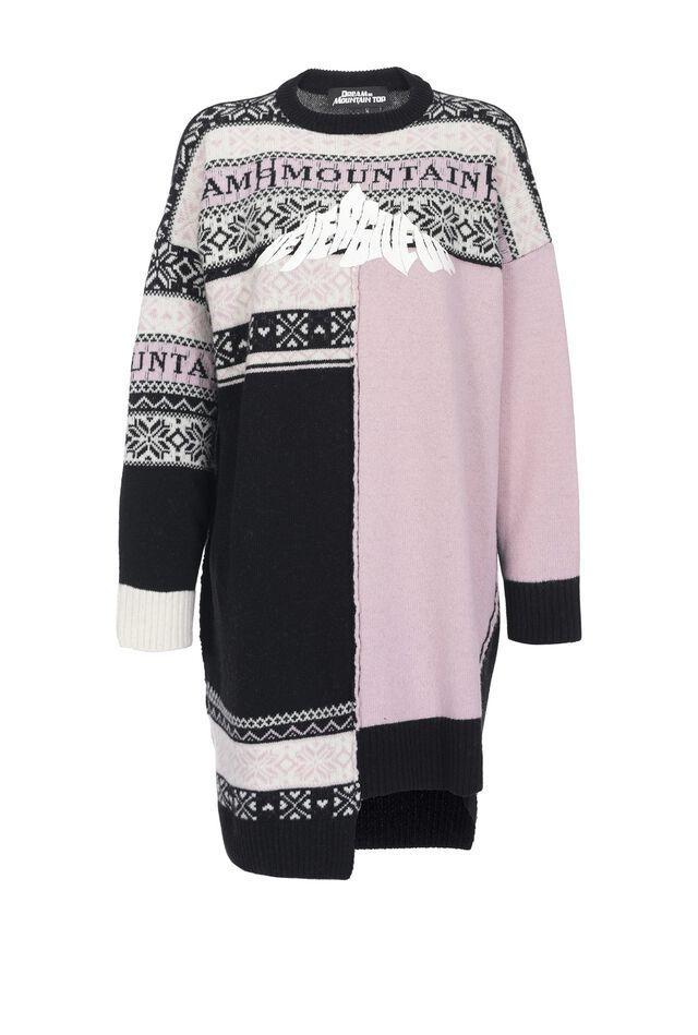 Norwegian knit dress