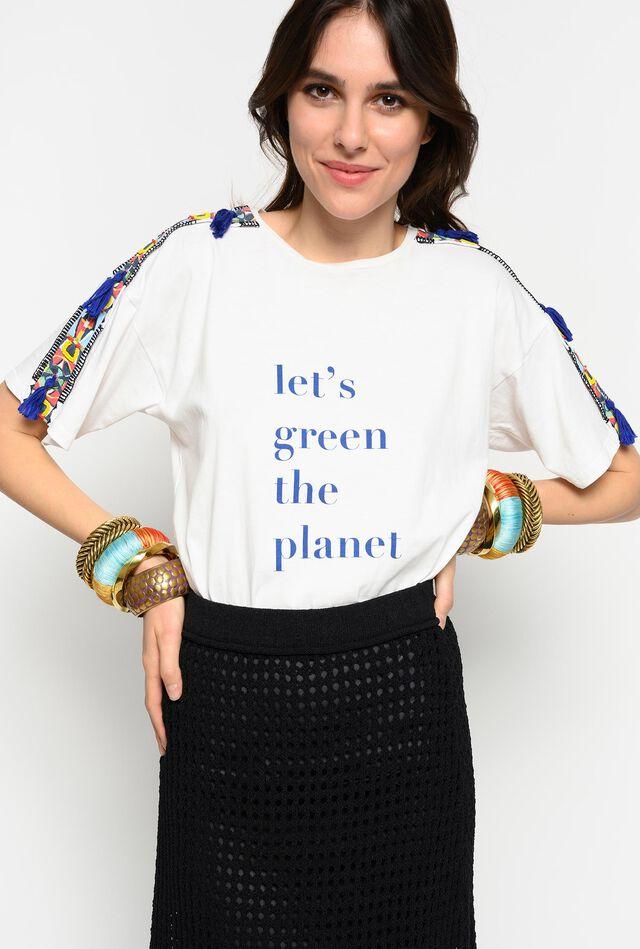 Camiseta #StellaJeanPINKOtreedom