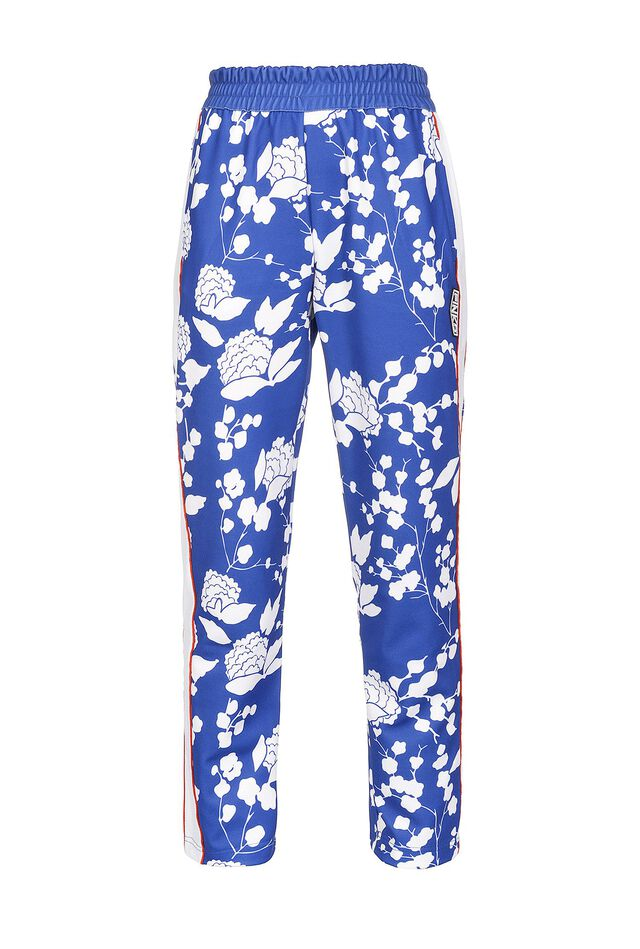 Joggers stampa lampone