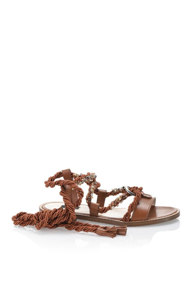 Sandalias con cierre alrededor del tobillo