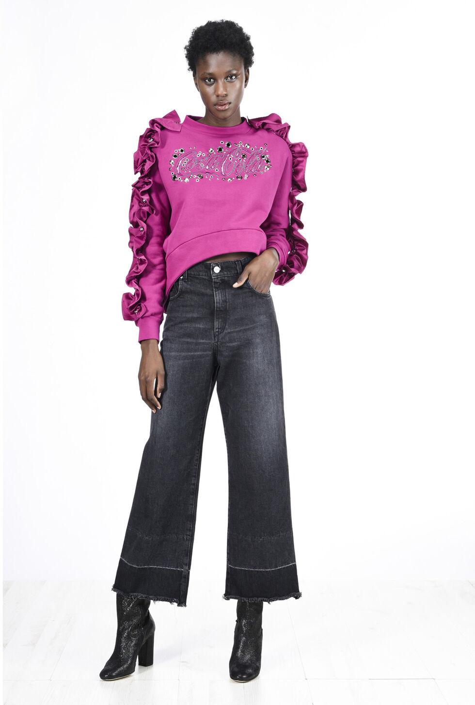 berarbeitetes sweatshirt mit demi couture appeal die. Black Bedroom Furniture Sets. Home Design Ideas