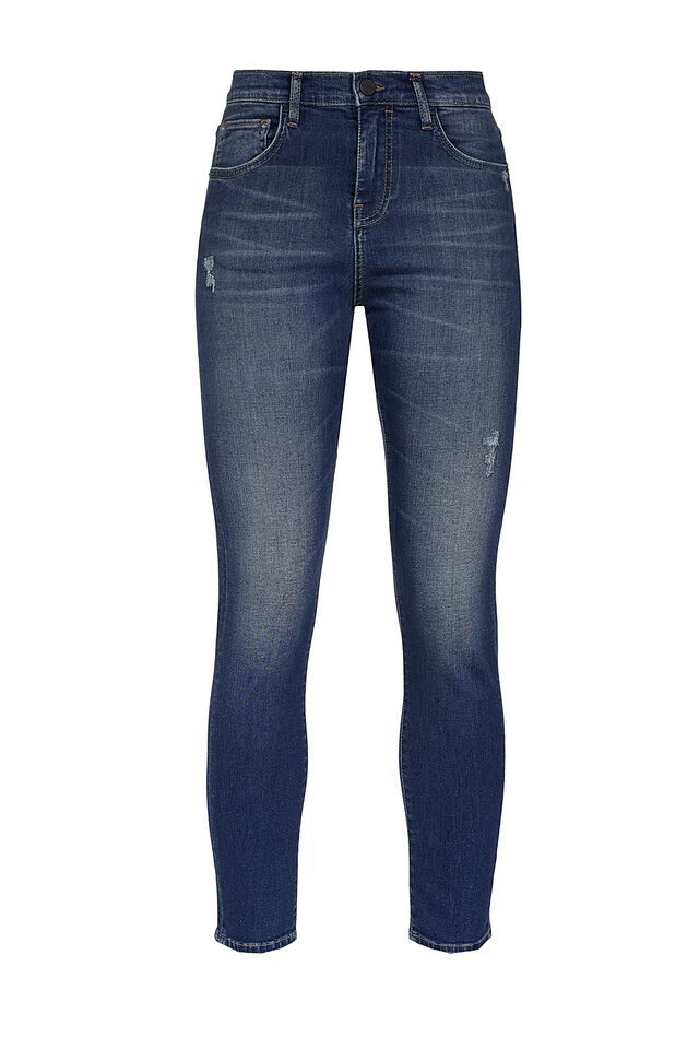 Jeans skinny-fit in denim power stretch