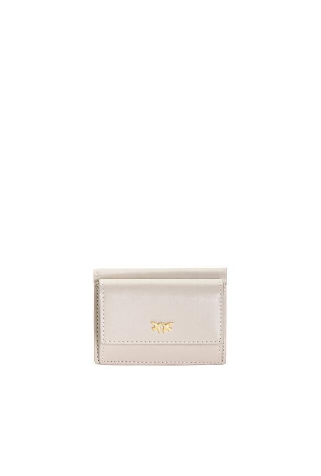 Mini leather wallet