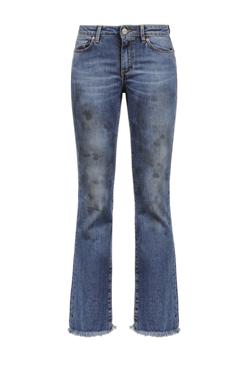 Jeans bleached