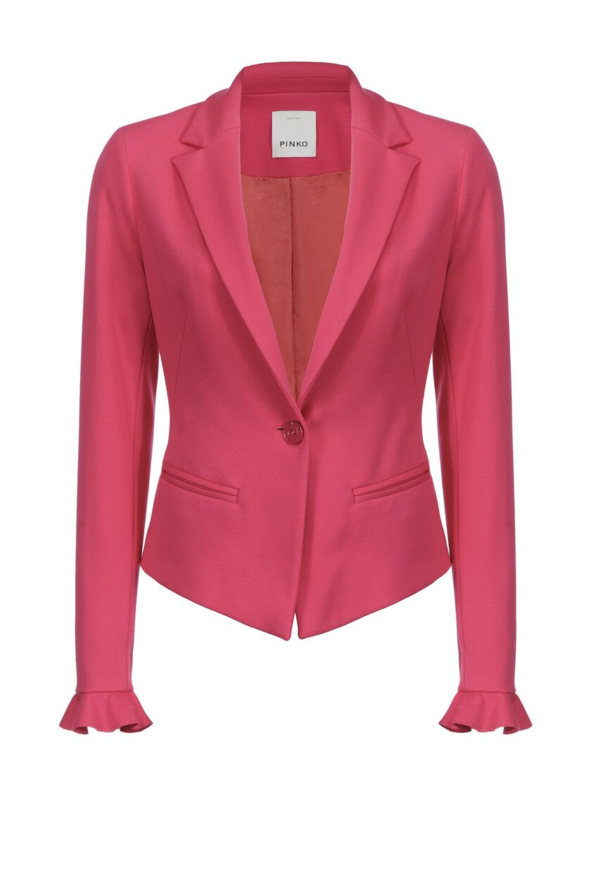 Blazer in technical fabric