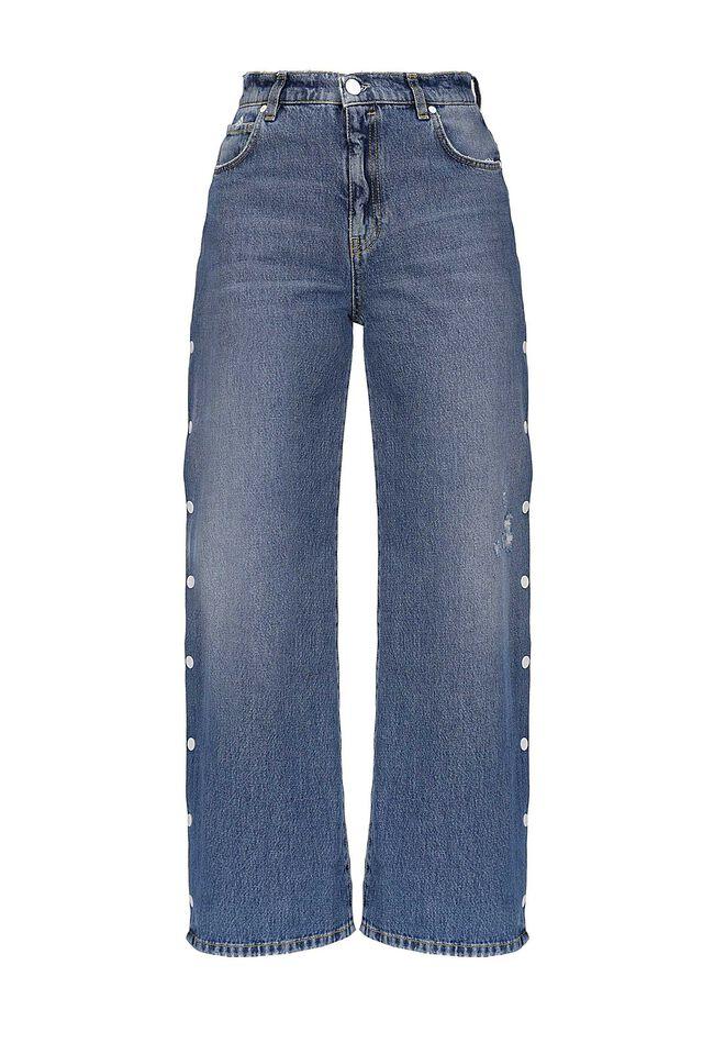 Jeans flared-fit in denim vintage