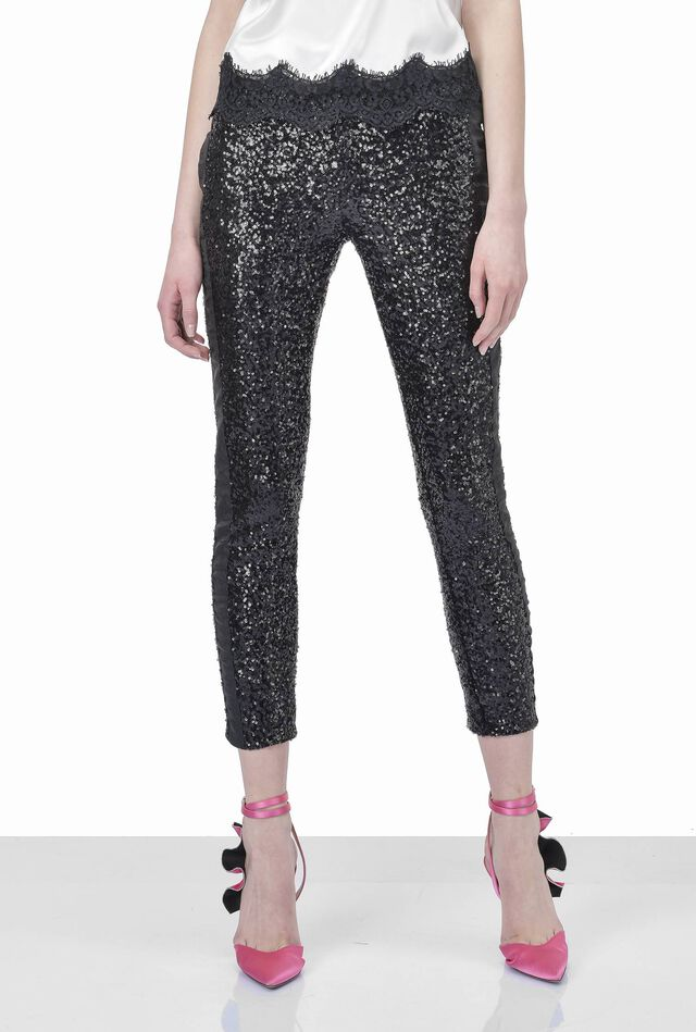 Pantalone in paillettes