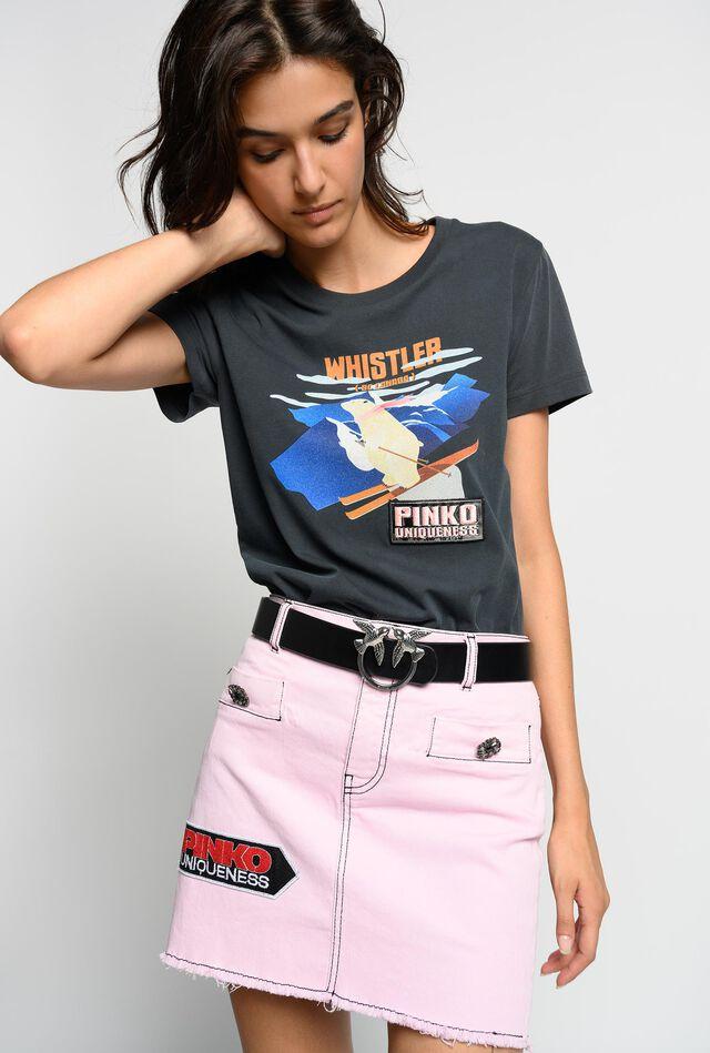 Minifalda con parches