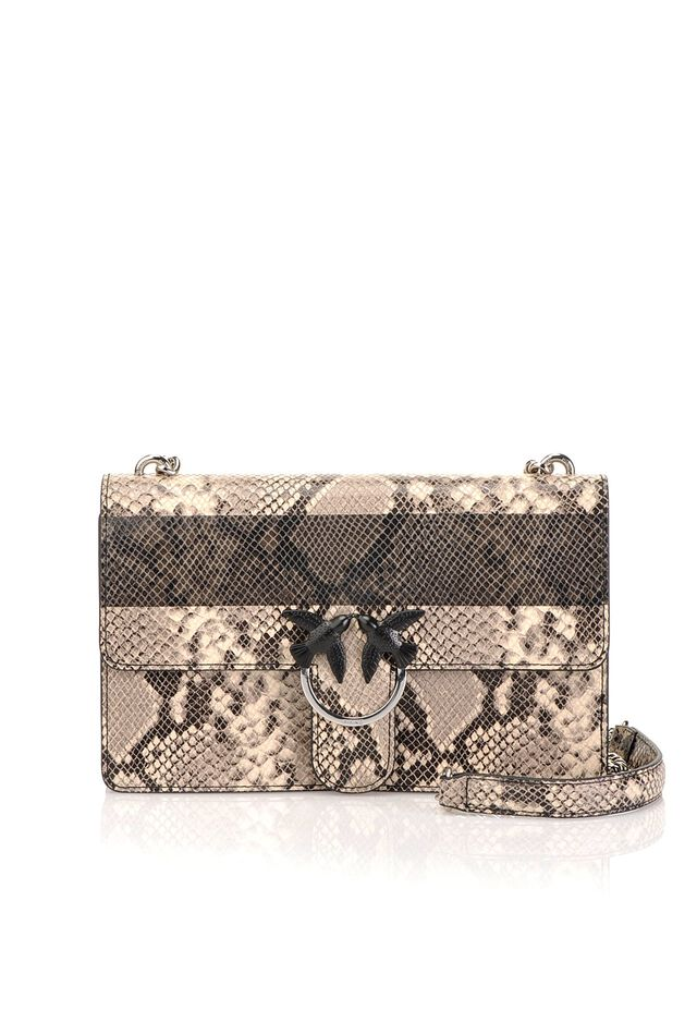 Love Bag Python in pelle