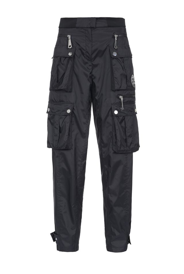 Technical cargo trousers