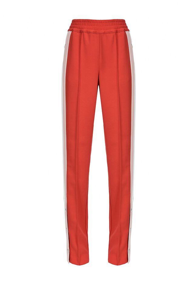 Pantalon de jogging en crêpe