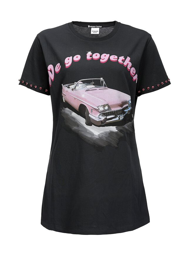 We Go Together cotton jersey T-shirt