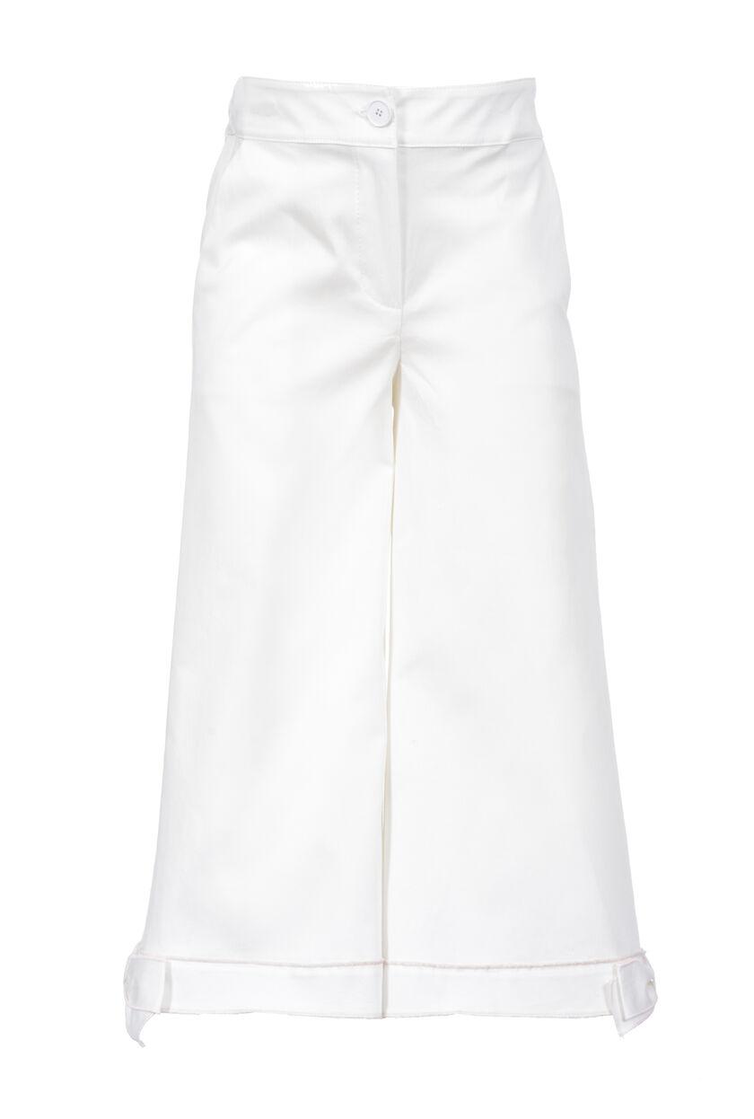 Pantalón de algodón compacto