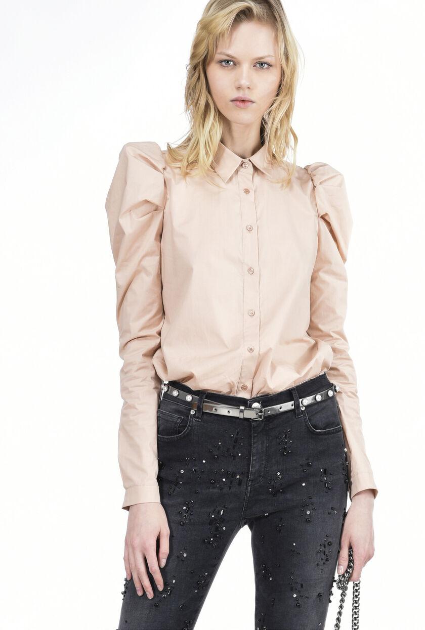 Camicia in popeline siliconato