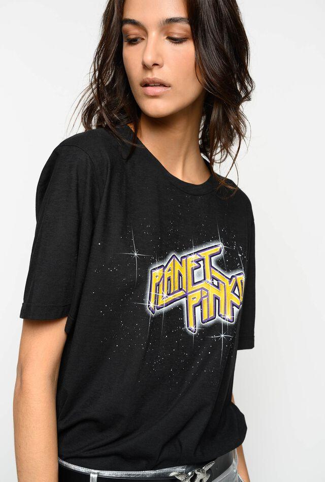 T-shirt Planet PINKO