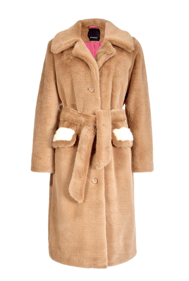 Mink effect coat