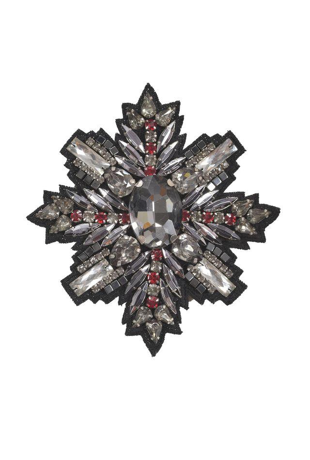 Broche con cristales