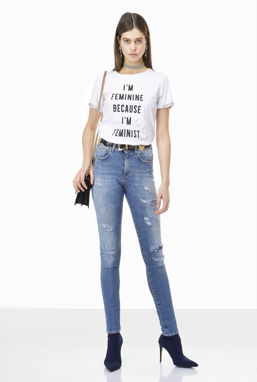 Délavé jeans