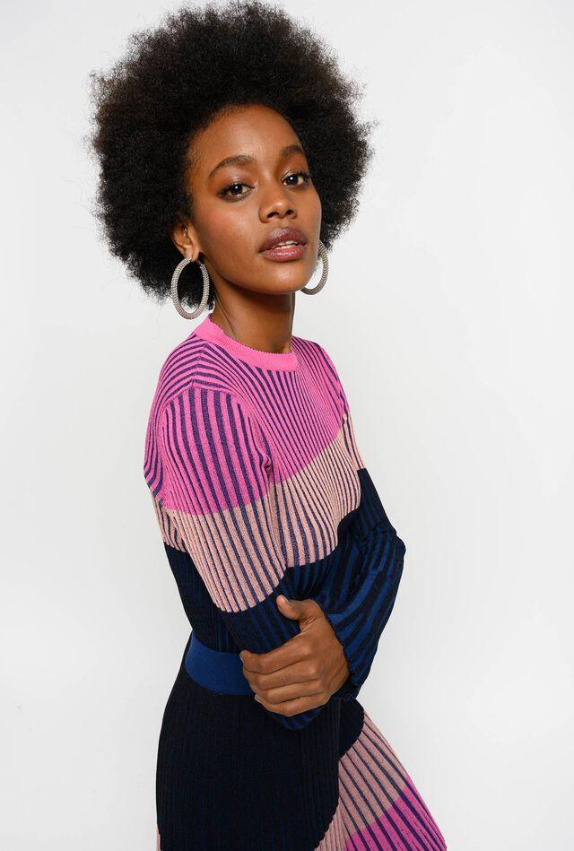 Suéter colour block
