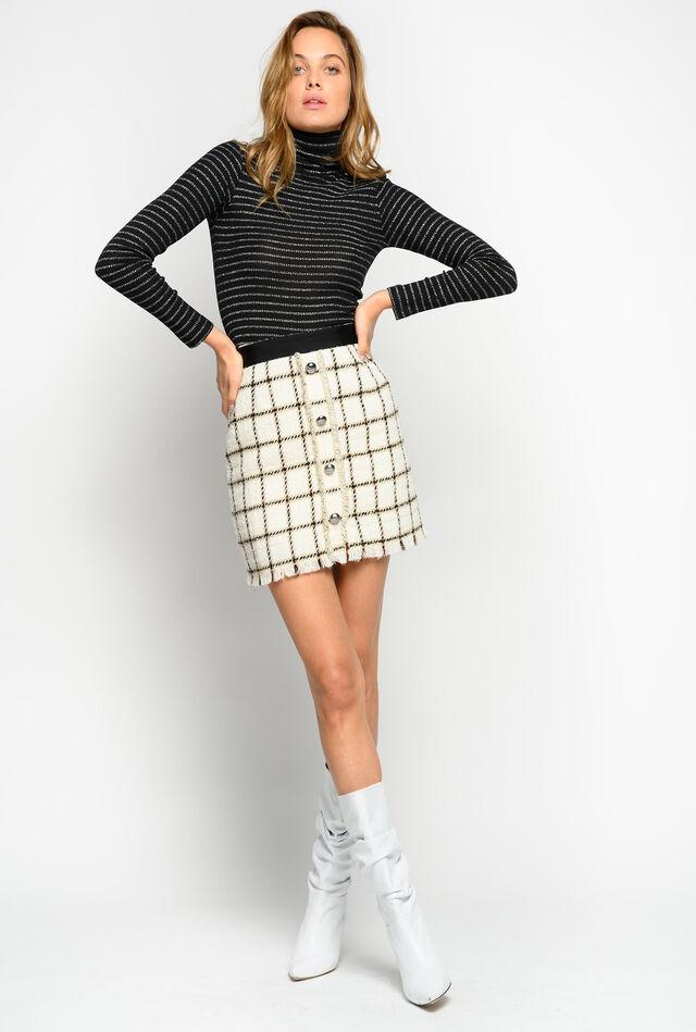 Bouclé mini skirt Online Exclusive