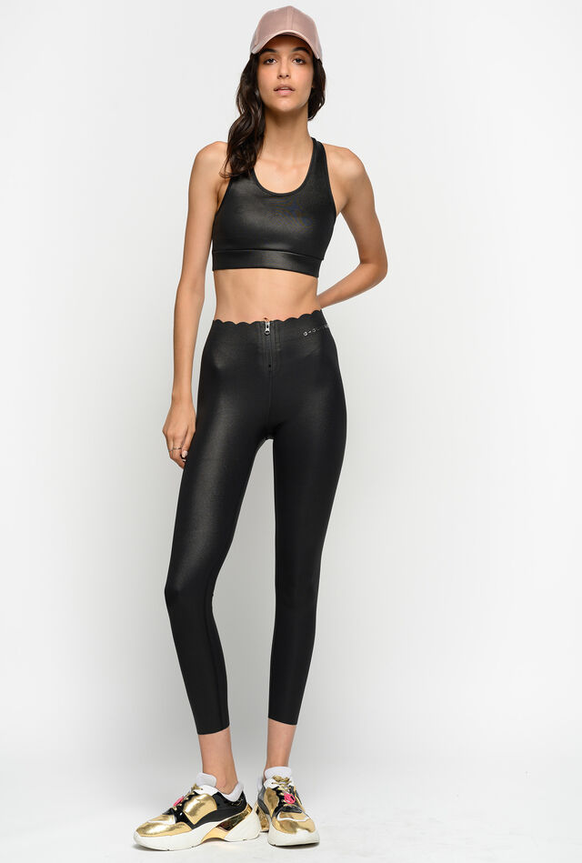 Leggings in heavy technical jersey