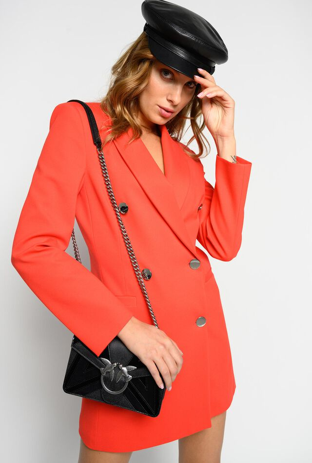 Milano stitch coat dress