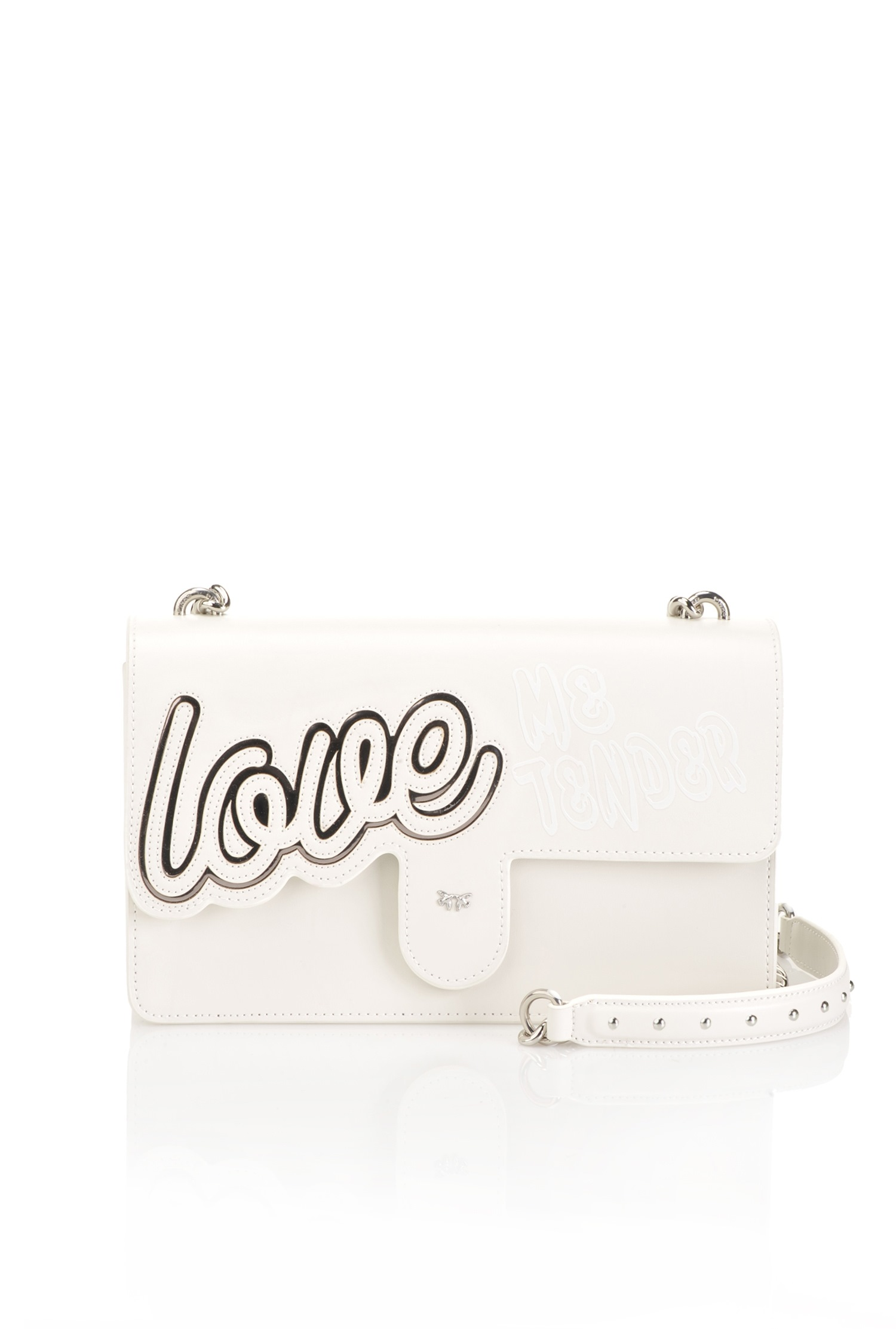 » Pinko Cuir Bag Love Incrustation « En Avec BxoredC