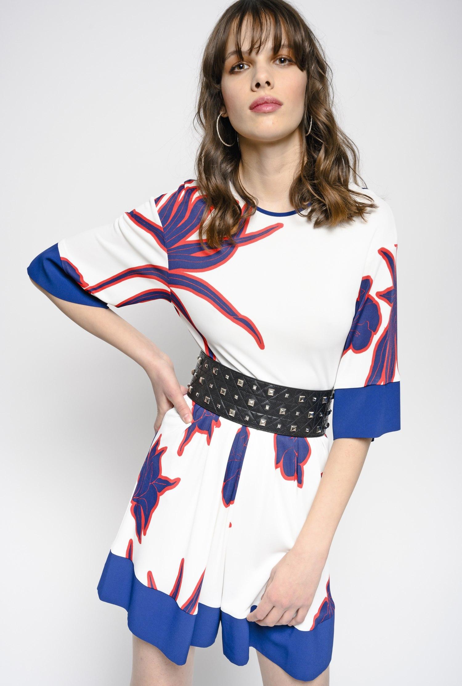 4af49dffb9c Jumpsuit in printed jersey